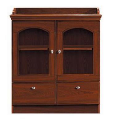 【南荣家具】茶水柜NR333贴木皮油漆柜
