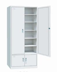 【南荣家具】文件柜NR-612铁皮柜4门柜