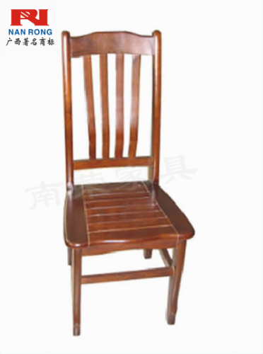 【南荣家具】办公椅NRH7403实木椅子靠背凳子家用餐椅简约餐厅酒店饭店用餐桌椅麻将书桌椅