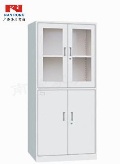【南荣家具】钢制办公室文件柜NR850铁皮柜资料小柜子矮柜档案资料柜带锁储物柜铁柜