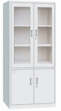 【南荣家具】钢制办公室文件柜铁皮柜资料小柜子矮柜档案资料柜带锁储物柜铁柜