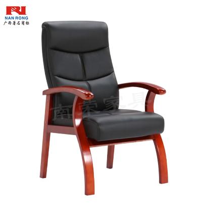【南荣家具】办公椅NR-ZSX-HKF06油漆会议椅待客椅