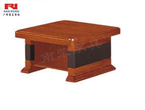 【南荣家具】茶几NR-GS-J0308办公室家具实木皮油漆茶几简约现代桌会客接待办公沙发茶几多功能方几