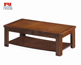 【南荣家具】茶几NR-E503办公室家具实木皮油漆茶几简约现代桌会客接待办公沙发茶几多功能