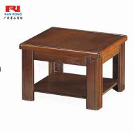 【南荣家具】茶几NR-E503-1办公室家具实木皮油漆茶几简约现代桌会客接待办公沙发茶几多功能