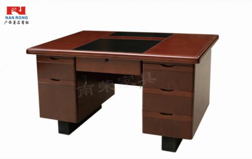 【南荣家具】办公桌NRB1203木纹色油漆桌写字桌单人位 1.2米