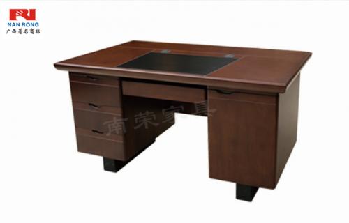 【南荣家具】办公桌NRB1208木纹色油漆桌写字桌单人位 1.2米