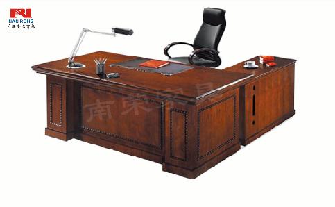 【南荣家具】办公桌班台NRA3K201木纹色油漆桌写字桌单人位 2米