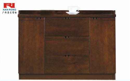 【南荣家具】茶水柜NRF602矮柜木皮油漆柜