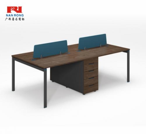 【南荣家具】职员桌NR-GNW-66B2405办公桌椅办公室桌子四人位多人位员工桌简约现代