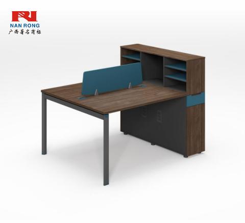 【南荣家具】职员桌NR-GNW-66B1304办公桌椅办公室桌子两人位多人位员工桌简约现代