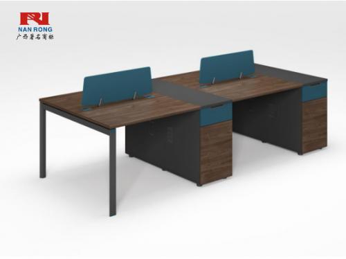 【南荣家具】职员桌NR-GNW-66B2803办公桌椅办公室桌子四人位多人位员工桌简约现代