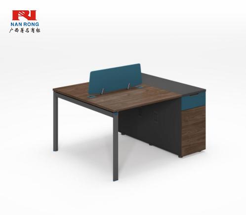 【南荣家具】职员桌NR-GNW-66B1403办公桌椅办公室桌子两人位多人位员工桌简约现代