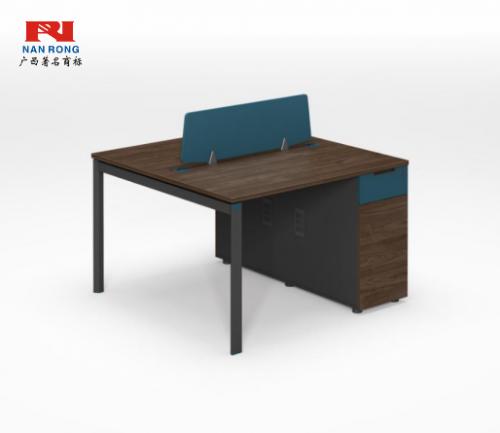 【南荣家具】职员桌NR-GNW-66B1202办公桌椅办公室桌子两人位多人位员工桌简约现代
