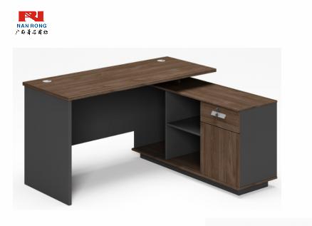 【南荣家具】经理桌NR-GNW-66B1408简约现代商用办公室家具中式大气班台主管经理总裁桌椅组合