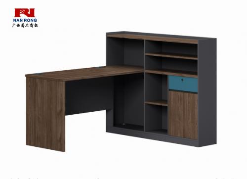 【南荣家具】职员桌NR-GNW-66BG1508办公桌椅办公室桌子单人位员工桌简约现代
