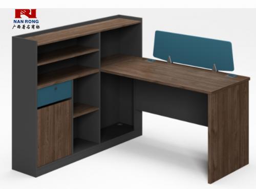 【南荣家具】职员桌NR-GNW-66B1508办公桌椅办公室桌子单人位员工桌简约现代
