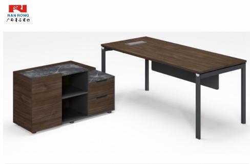 【南荣家具】经理桌NR-GNW-66D1604简约现代商用办公室家具中式大气班台主管经理总裁桌