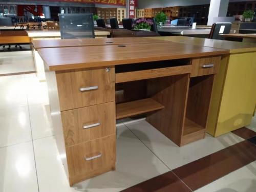 【南荣家具】职员桌NR-DT120办公桌椅办公室桌子两人位多人位员工桌简约现代